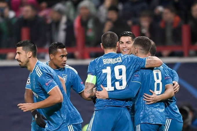 Juventus net 300th Champions League goal