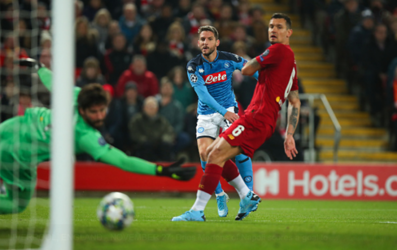 Napoli hold out for Liverpool draw to keep Champions League hopes alive