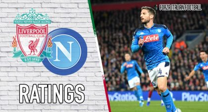 Napoli Player Ratings: Mertens the standout