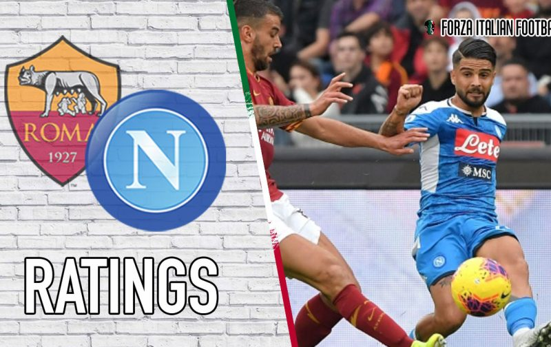 Napoli Player Ratings: Rough run continues