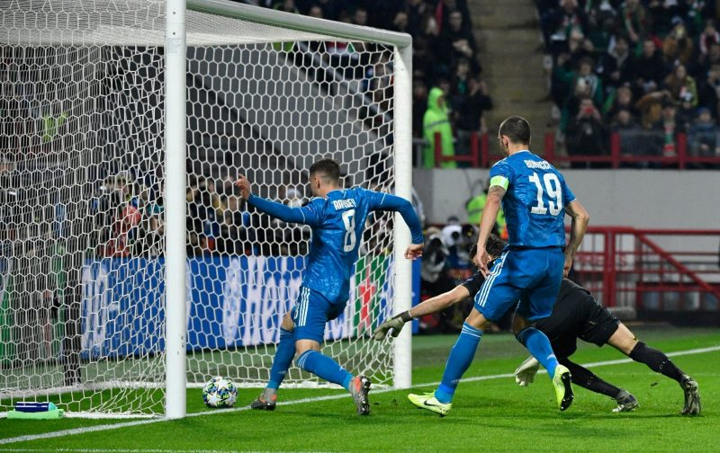 Costa scores at the death to down Lokomotiv Moscow and send Juventus through