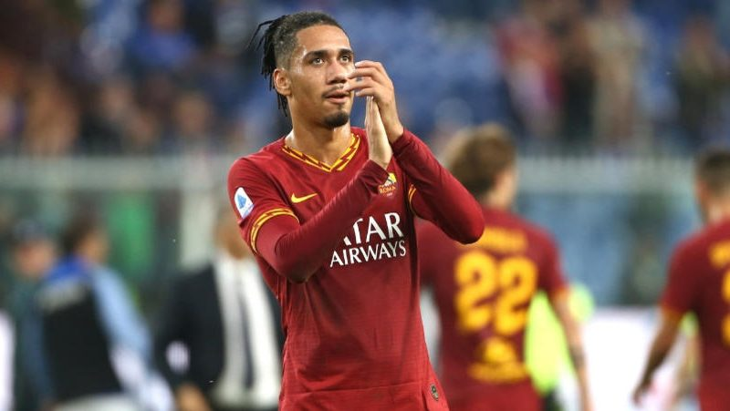 Roma meet with Smalling to discuss permanent transfer