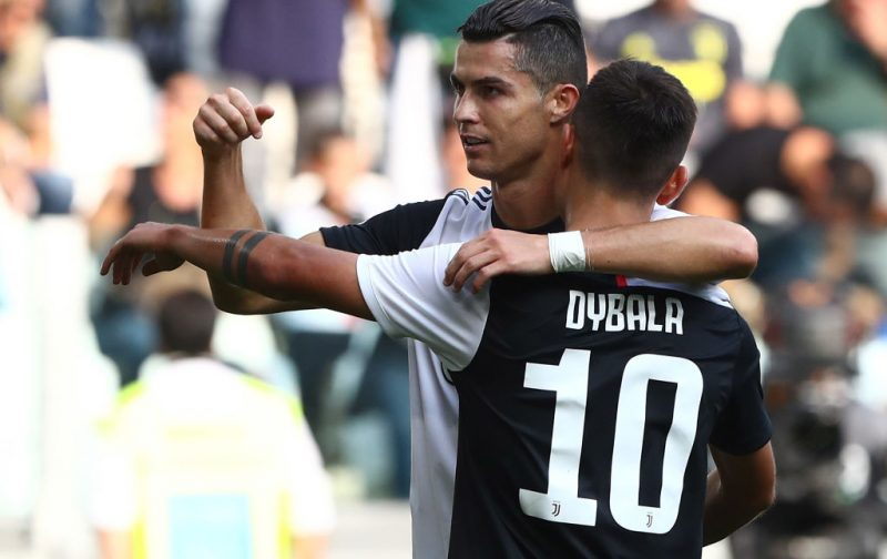 Dybala delighted to 'study' Cristiano Ronaldo and Messi up close