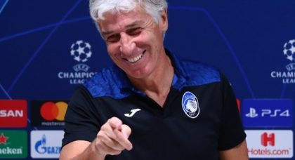 Gasperini: Atalanta's aim is still to progress in the Champions League