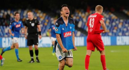 Napoli slip to second with Red Bull Salzburg draw