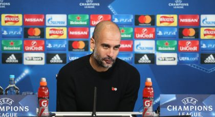 Guardiola: You have to take your hat off to Atalanta, they're hard to face