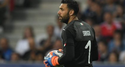 Sirigu targeting Italy's No.1 shirt