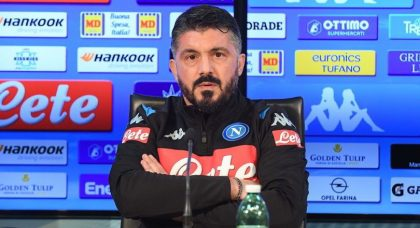 Gattuso: Napoli have hit rock bottom, and need to learn how to think