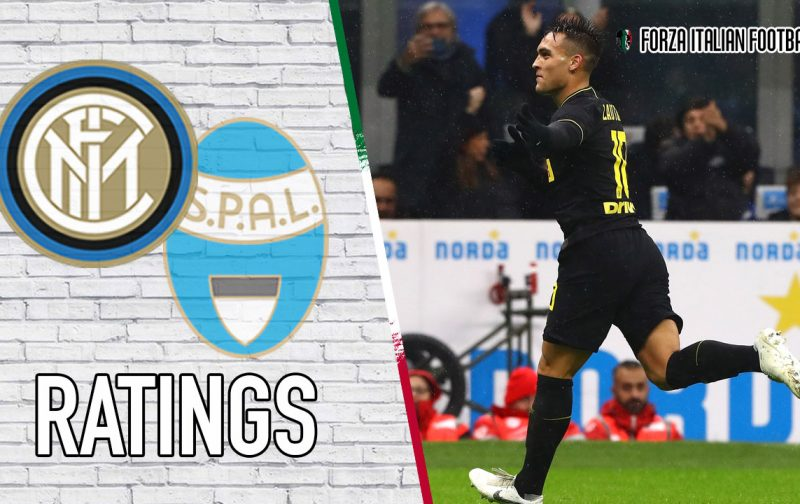 Inter Player Ratings: Lautaro in charge