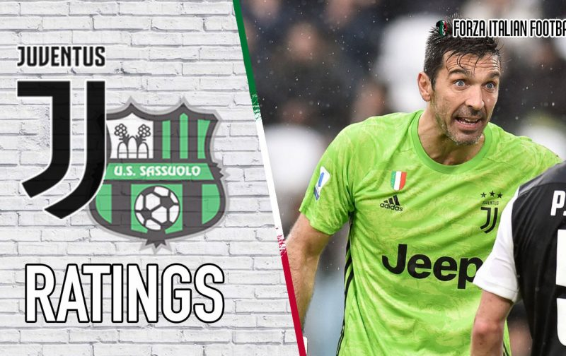 Juventus player ratings: Buffon blunder proves costly for Bianconeri