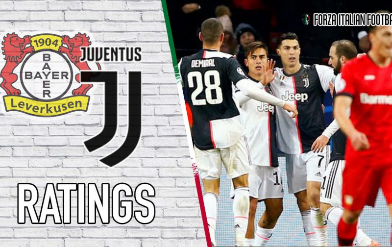 Juventus Player Ratings: Dybala drives victory