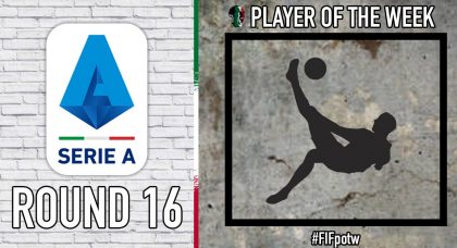 Serie A Player of the Week | Round 16