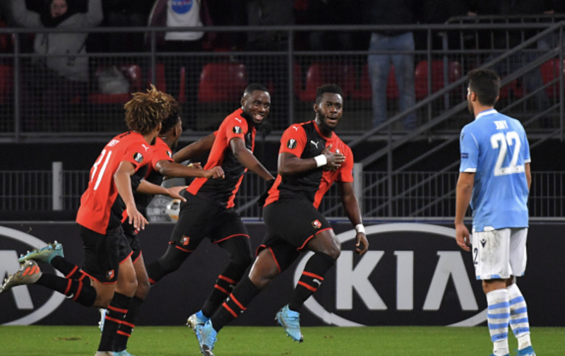 Sorry Lazio fall in Rennes and exit Europa League