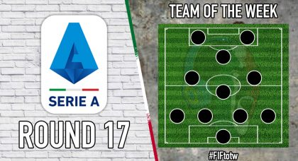 Serie A Team of the Week | Round 17