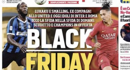 Corriere dello Sport offer defence of 'Black Friday' headline