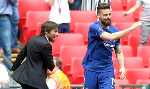 Inter reach agreement with Chelsea for Giroud