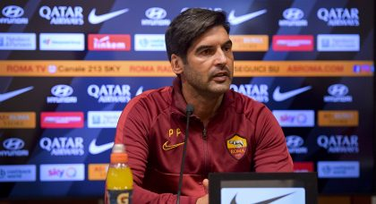 Fonseca laments Roma's sloppy start in defeat to Juventus