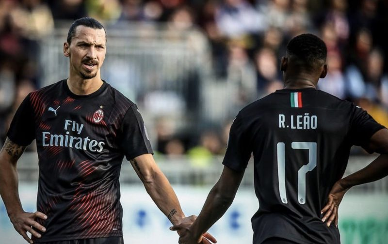 Ibrahimovic helps AC Milan spoil Cagliari's centenary party