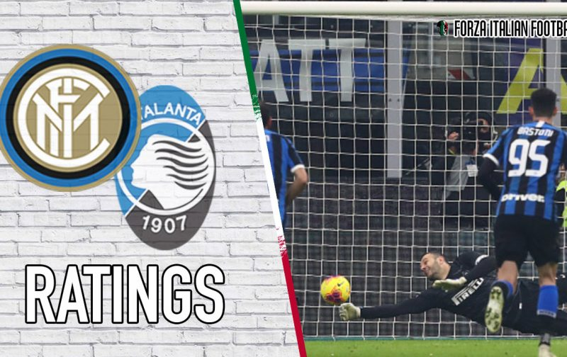 Inter Player Ratings: Handanovic to the rescue