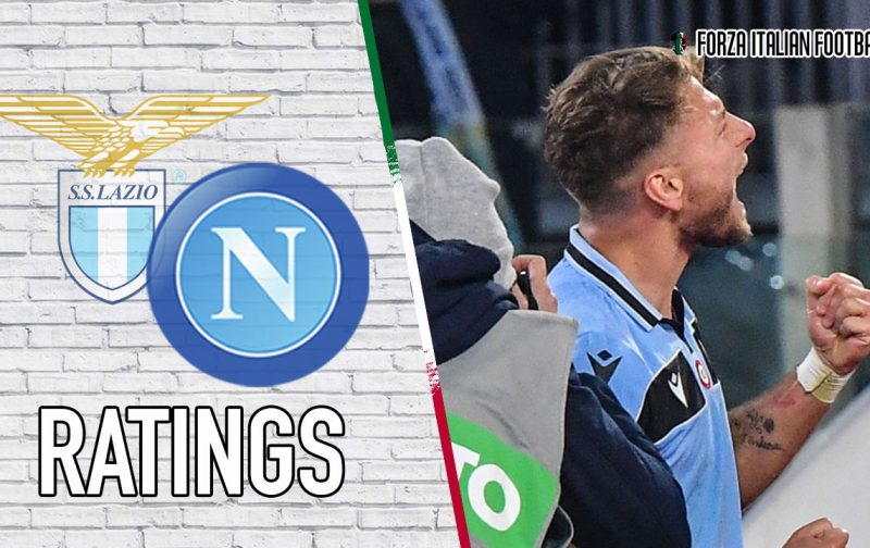Lazio Player Ratings: Immobile comes through in the end