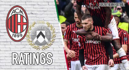 AC Milan Player Ratings: Rebic at the double