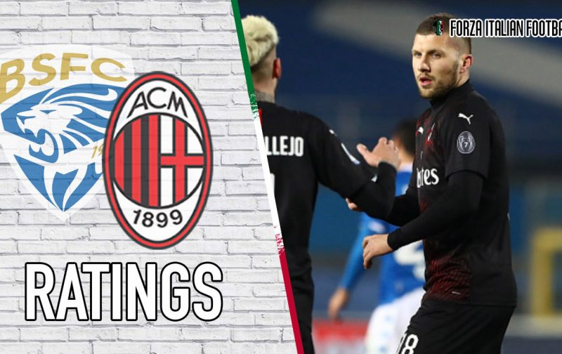 AC Milan Player Ratings: Rebic to the rescue again!