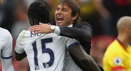 Conte keen on Moses reunion