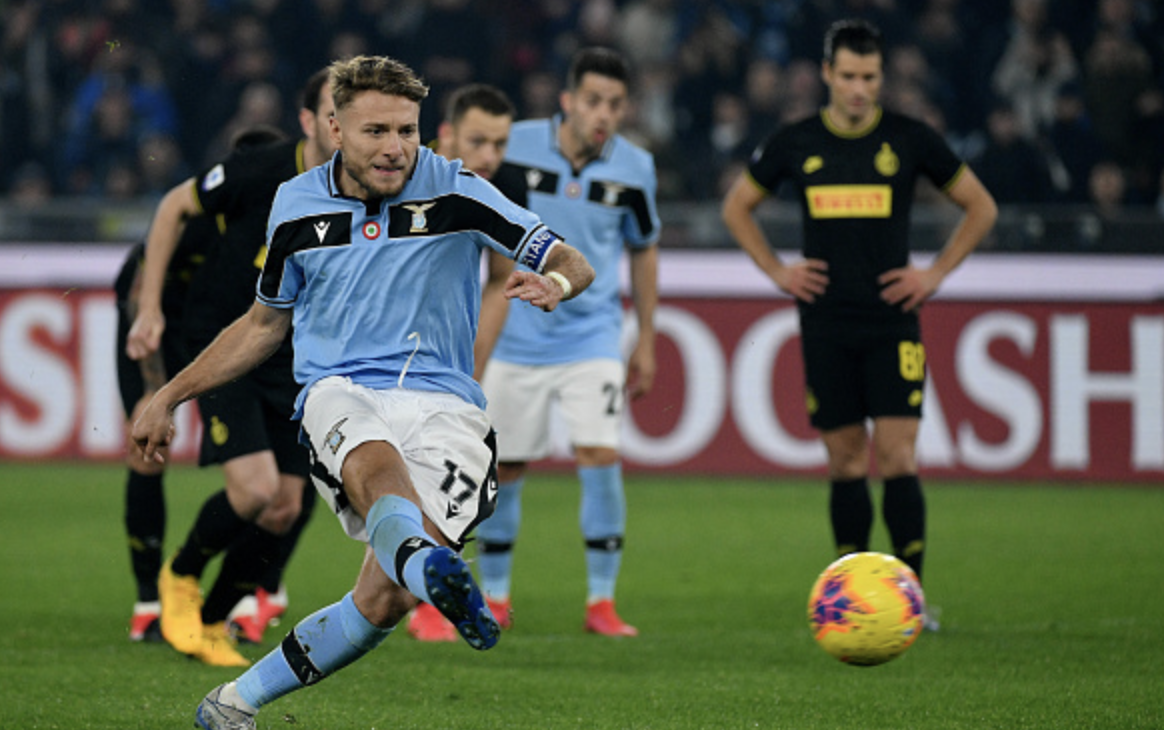Spirited Lazio fight back to beat Inter and rise to second