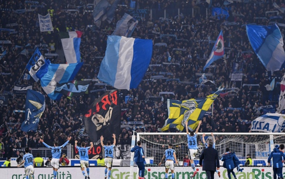 PICTURES: Lazio celebrate momentous comeback against Inter