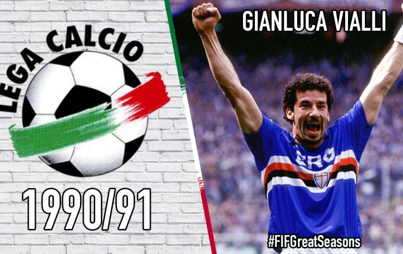 Great Seasons: Gianluca Vialli – 1990/91