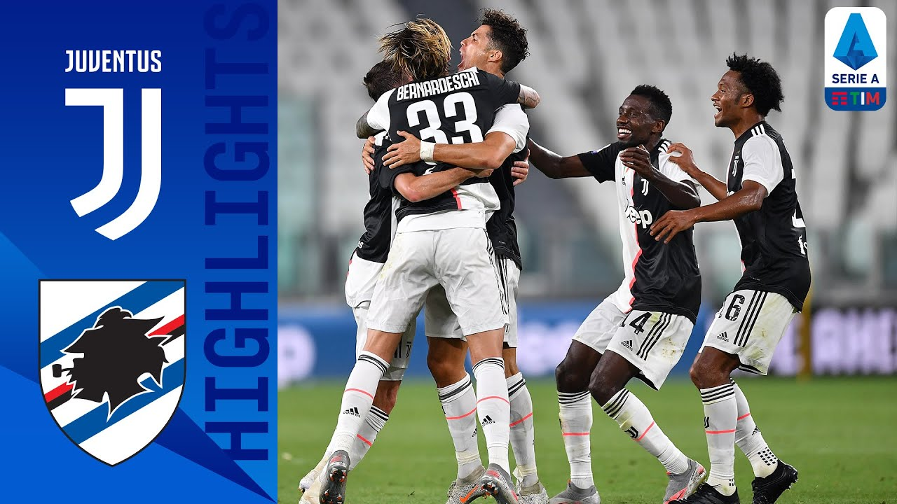 Juventus 2-0 Sampdoria: Goals and Highlights | Domination