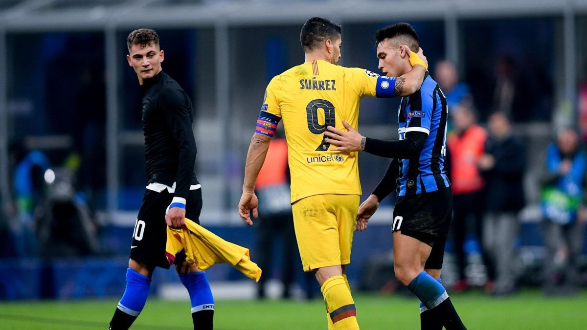 Suarez: Lautaro is extraordinary, if he comes to Barcelona we'll ...