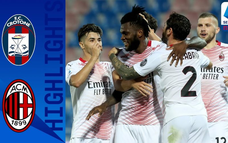 Crotone 0-2 AC Milan | Goals and Highlights | Brahim off the mark