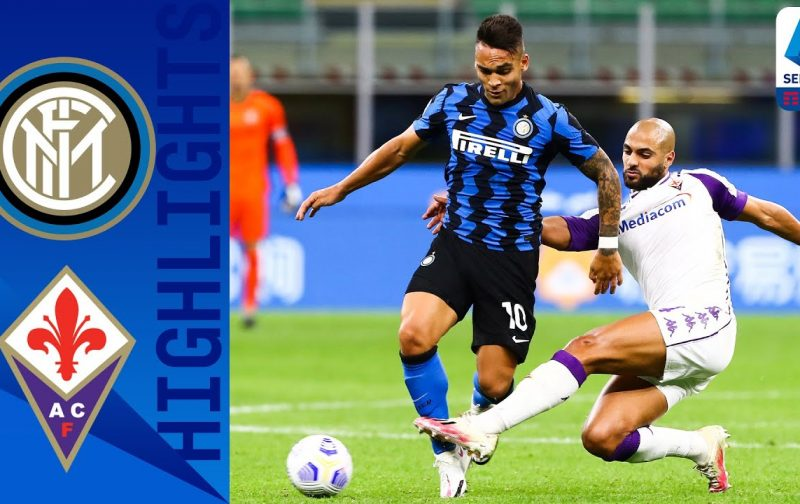 Inter 4-3 Fiorentina | Goals and Highlights | Late goals aplenty