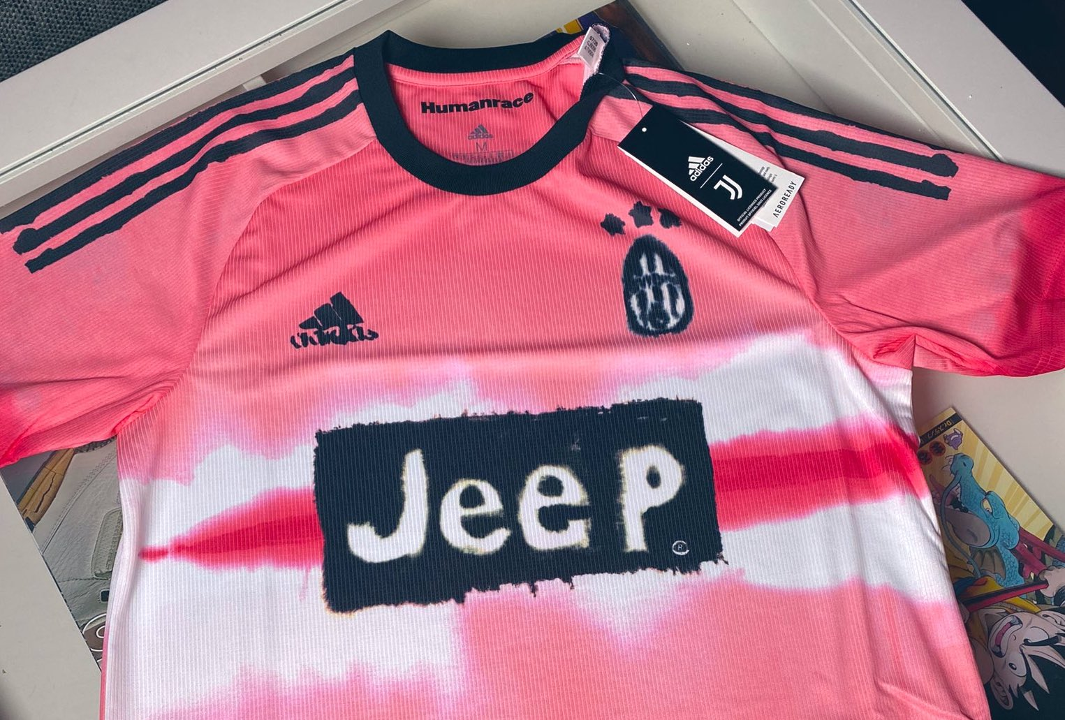 juventus back to pink in adidas x pharrell williams humanrace line of kits forza italian football juventus back to pink in adidas x