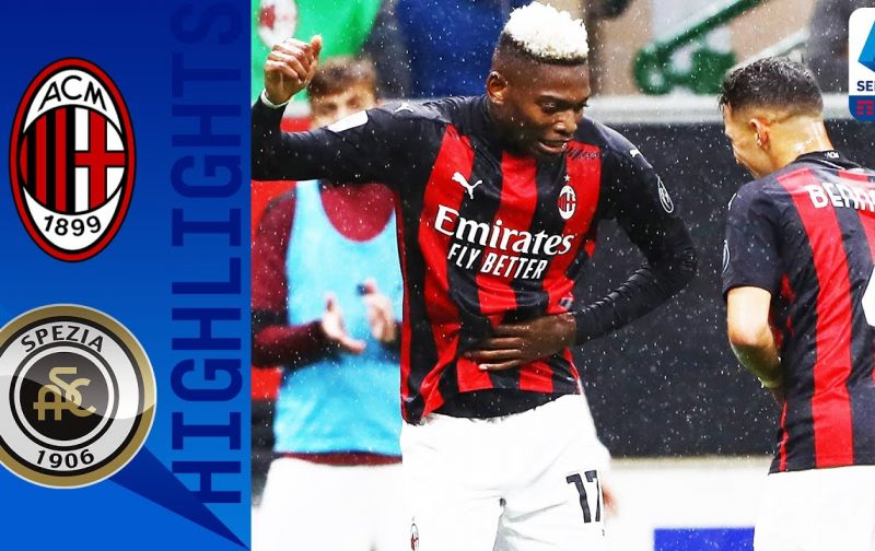AC Milan 3-0 Spezia | Goals and Highlights | Rossoneri march on
