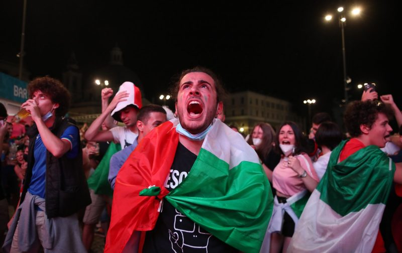 As Rome re-opens for Euro 2020, Italians begin to heal