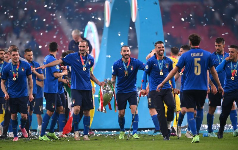 Italy to receive honours from President Mattarella after Euro 2020 triumph