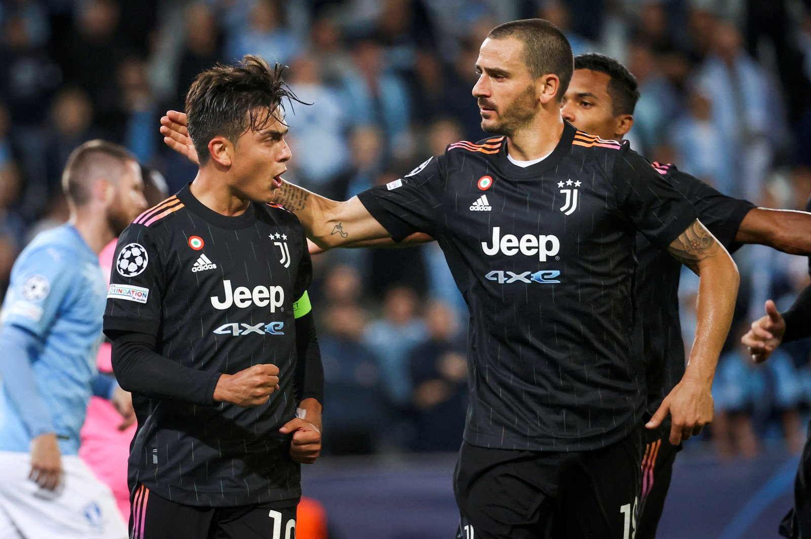 Juventus cruise past Malmo in Champions League opener